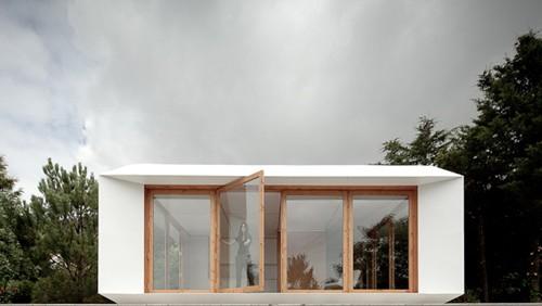модульный дачный дом фасад