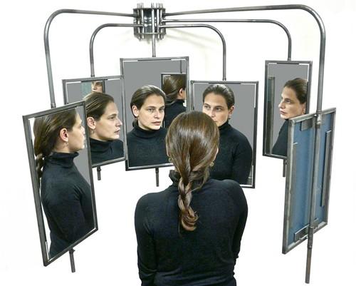 необычное движущееся зеркало