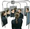 необычное зеркало