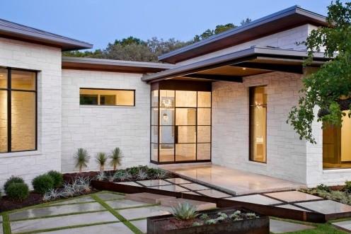 дизайн крыльца частного дома 5