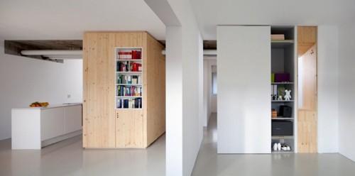 встроенные шкафы в интерьере