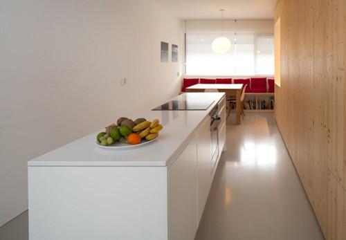 дизайн кухни со встроенной мебелью