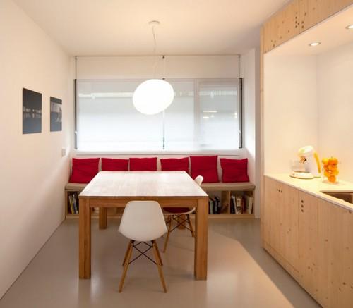 современный дизайн столовой в квартире