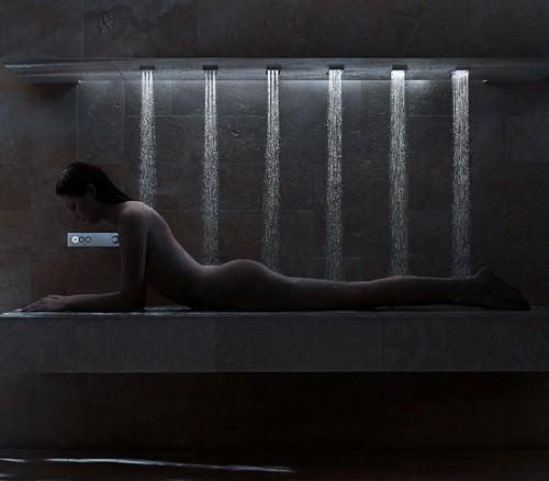 горизонтальный душ Donbracht