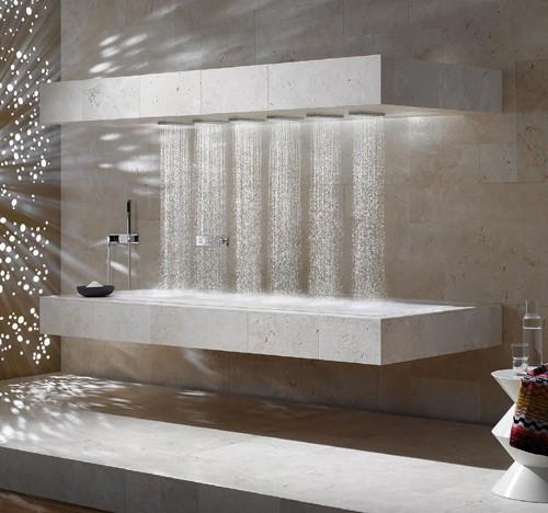 инновационный горизонтальный душ