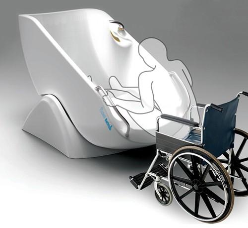 принцип использование ванны для инвалидов