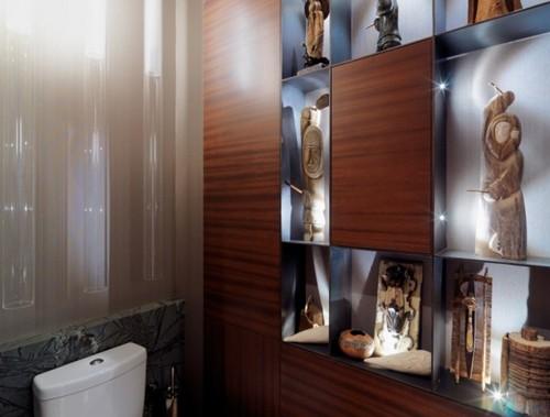 необычный дизайн туалета