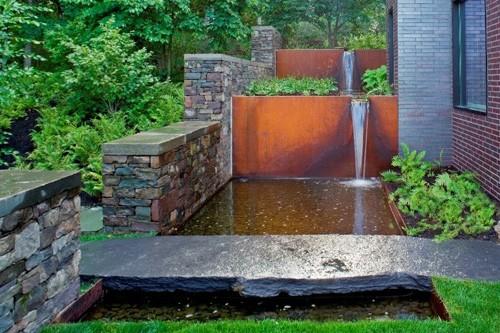 каскад водопадов в ландшафтном дизайне