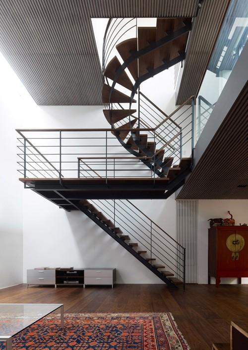 оригинальный дизайн лестницы