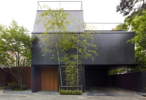 японский дом для одной семьи