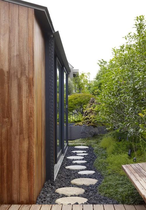 дворик японского дома
