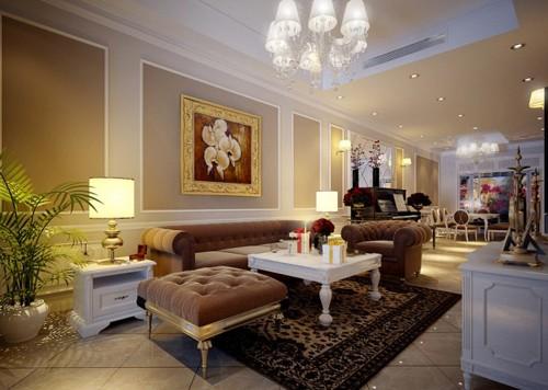 красивая классическая гостиная