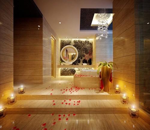 красивый интерьер ванны