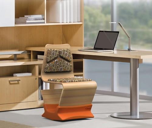 офисный стул качалка