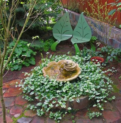 оригинальный мини сад