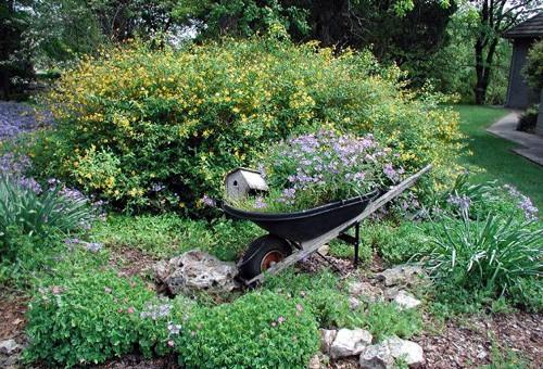 типичный голландский сад