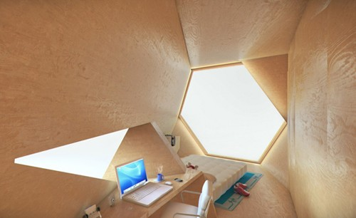 дизайн модульного домашнего офиса
