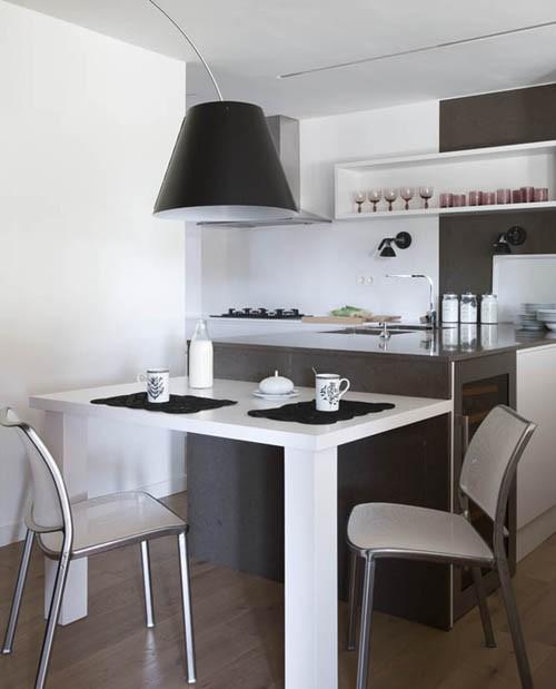 дизайн кухонной зоны