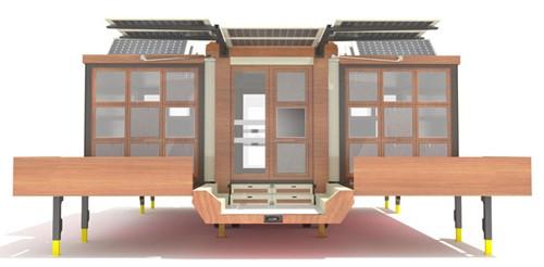 дизайн дома на колесах