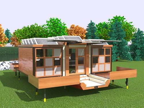 мобильный дом на колесах