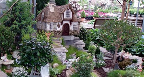 дизайнерский сад фей на открытом грунте
