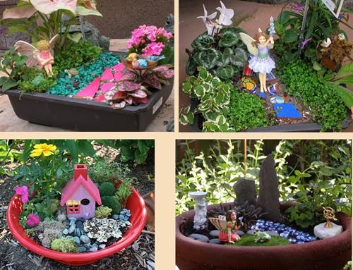крохотные сказочные сады