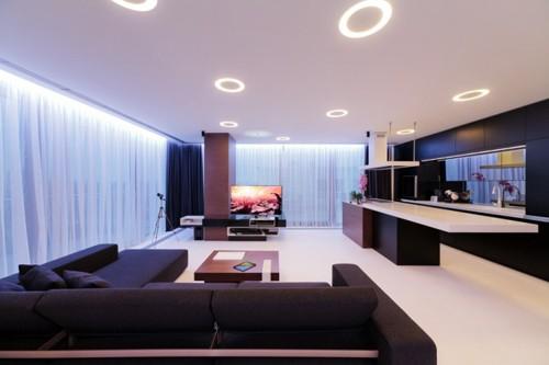 красивая современная квартира