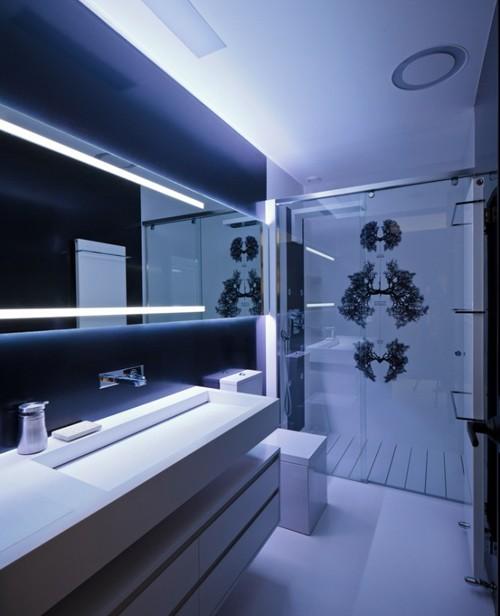 современный интерьер ванной