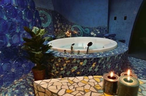 круглая ванная комната