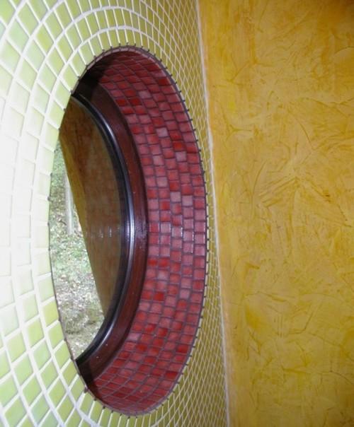 мозаичный декор окна