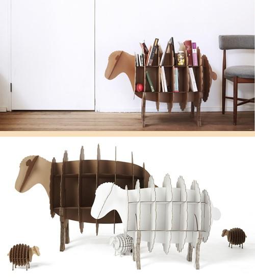 мебель из картона для детской