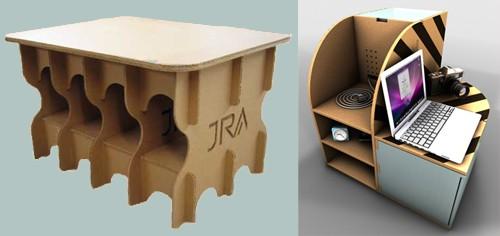 стильная мебель для картона
