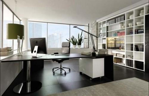 мебель для кабинета в стиле минимализм