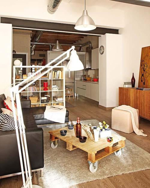 интерьер маленькой квартиры фото гостиной