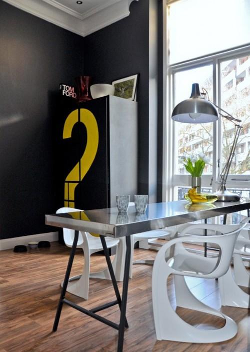 стильный интерьер столовой