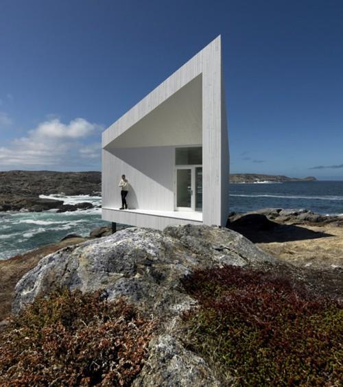 проект домика на острове