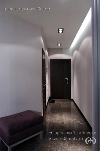 современный интерьер коридора после ремонта