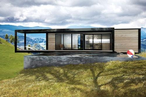 энергоэффективный модульный дом