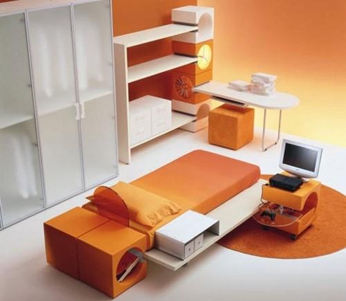 комната подростка в минималистическом стиле