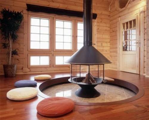 натуральные материалы в японском стиле дома