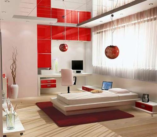 декорирование спальни в японской стилистике