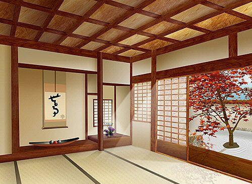 декор в японском дизайне