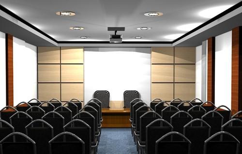 комната для совещаний театрального типа