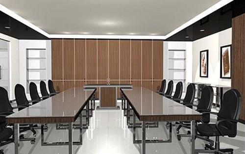 современная переговорная комната