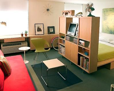 дизайн маленькой студии