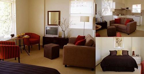 функциональные зоны квартиры студии