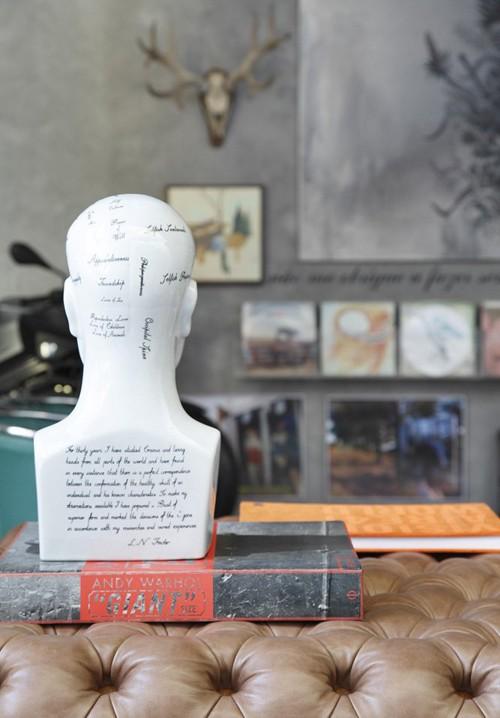 скульптурный декор современного дома