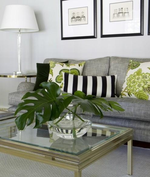 зеленый декор зоны отдыха