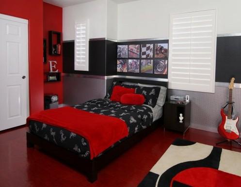 цветовая гамма комнаты подростка