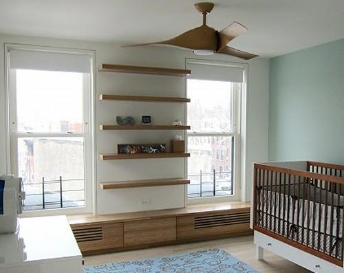 декоративный короб для радиатора в детской